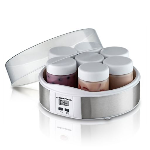 Gourmia Digital Yogurt Maker & 7-pc. Glass Jar Set