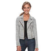 Women's Apt. 9® Ponte Moto Jacket