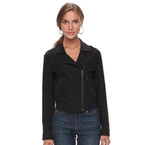 Women's Apt. 9® Asymmetrical Moto Jacket