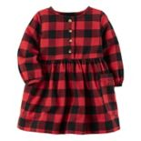 Baby Girl Carter's Buffalo Checkered Dress