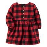 Baby Girl Carter's Buffalo Checkered Dress