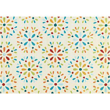 Couristan Beachfront Radiant Floral Indoor Outdoor Rug