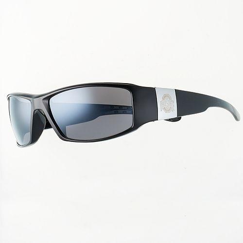 Adult Ohio State Buckeyes Chrome Wrap Sunglasses