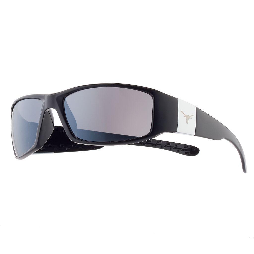 Adult Texas Longhorns Chrome Wrap Sunglasses