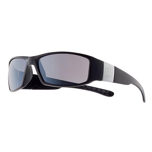 Adult Wisconsin Badgers Chrome Wrap Sunglasses
