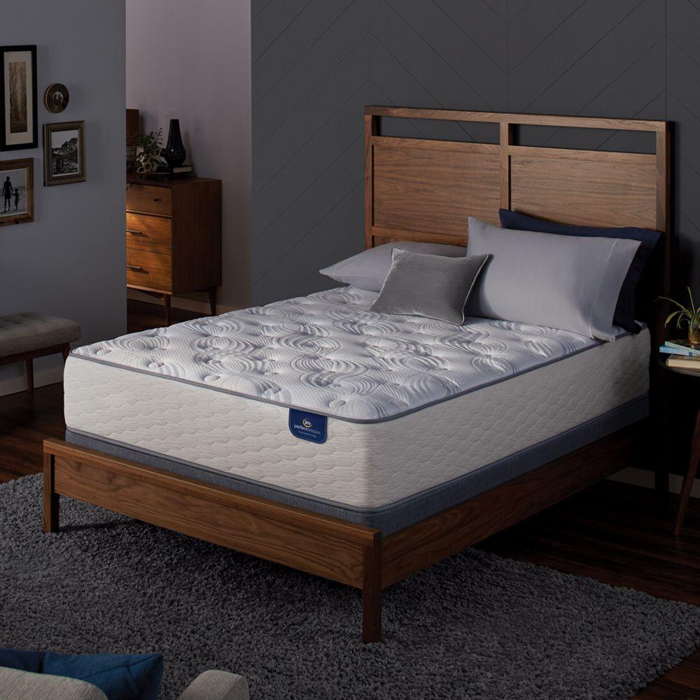 serta greenford plush mattress box spring set