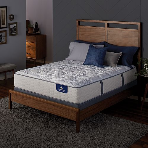 Serta Dalston Plush Mattress & Box Spring Set
