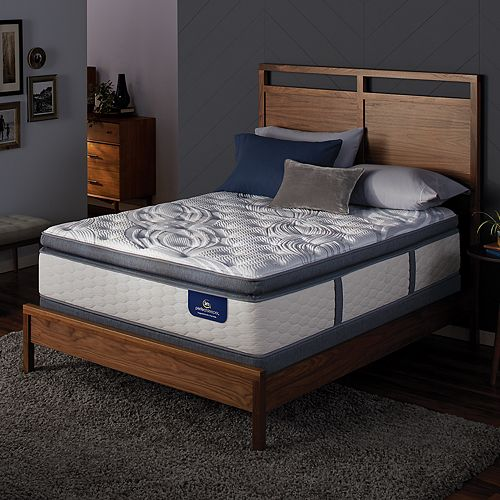 Serta Dalston Super Pillow Top Mattress Box Spring Set