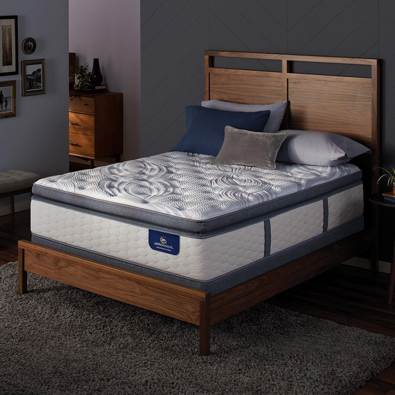 Superb Serta Dalston Super Pillow Top Mattress u Box Spring Set