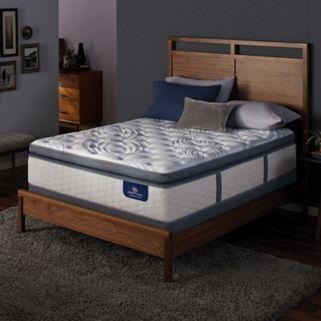 Serta Alima Terrace Super Pillow Top Firm Mattress & Box Spring Set