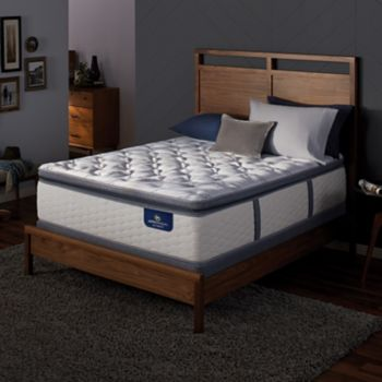 Serta Redbridge Super Pillow Top Firm Mattress & Box Spring Set