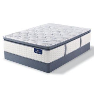 Serta Redbridge Super Pillow Top Firm Mattress & Box Spring Set