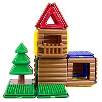 Magformers Log Cabin 48-pc. Set