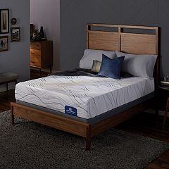 Serta Cedar Springs Plush Mattress & Box Spring Set