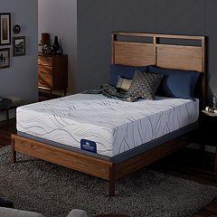 Serta Barnehurst Plush Mattress & Box Spring Set
