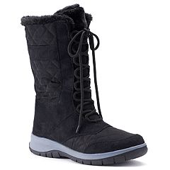 b3e40d504fe3e Itasca Maggie II Women s Water Resistant Winter Boots. Black. sale.  34.99