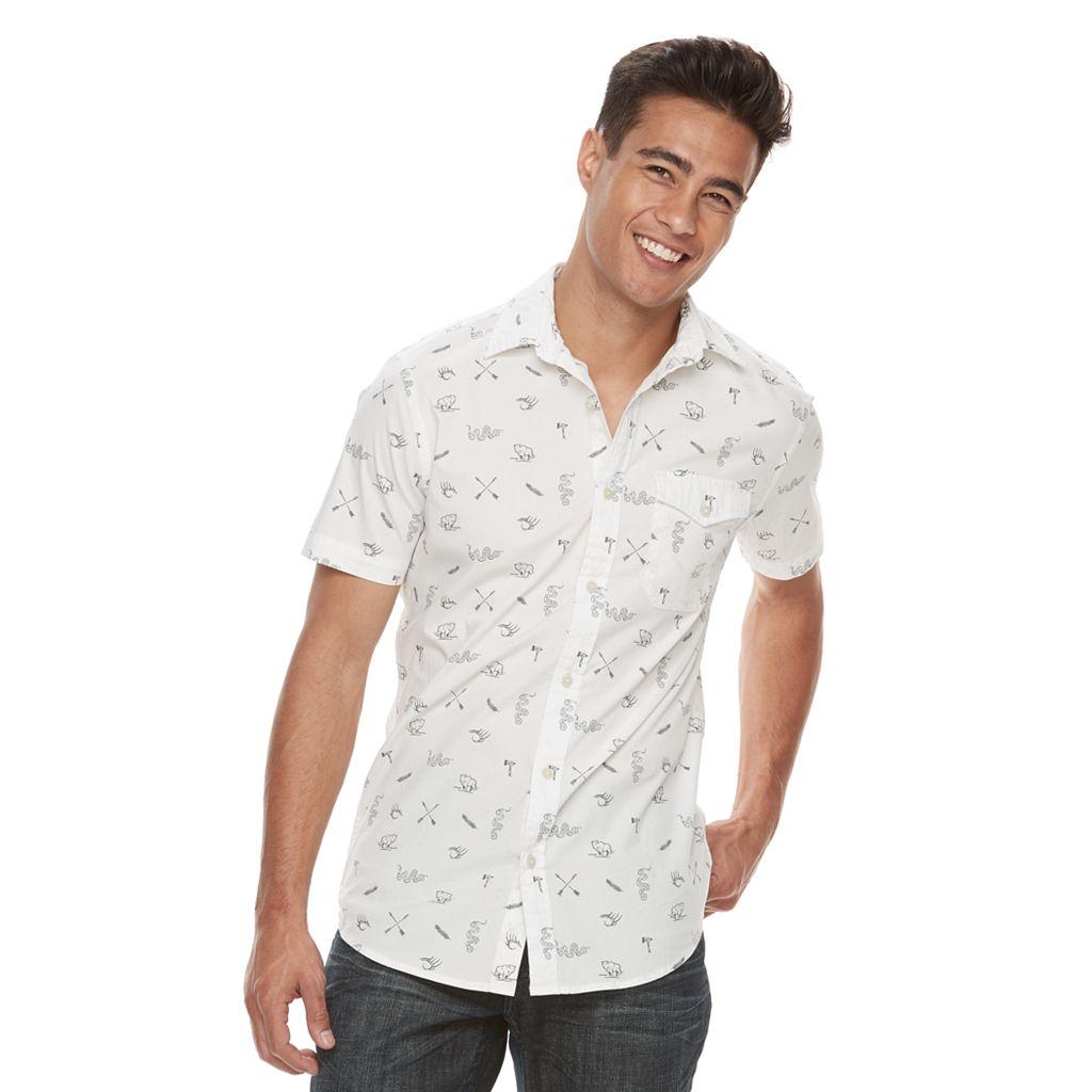 Men's Urban Pipeline® MaxFlex Printed Button-Down Shirt
