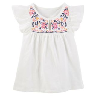 Toddler Girl OshKosh B'gosh® Floral Embroidered Top