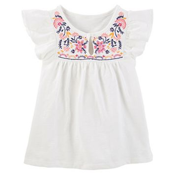 Toddler Girl OshKosh B'gosh® Floral Embroidered Top