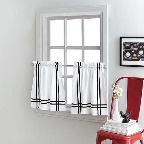 Sawyer Tier Curtain Pair