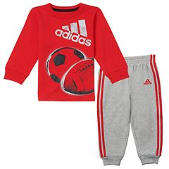 Baby Boy adidas All Sport Tee & Pants Set