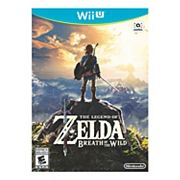 Legend of Zelda Breath of the Wild for Wii U
