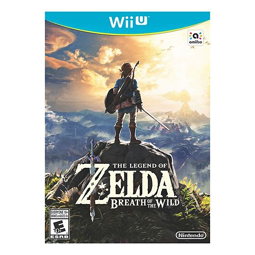 Legend of Zelda Breath of the Wild for Wii U