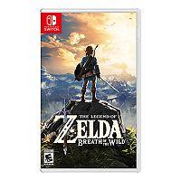 Legend of Zelda Breath of the Wild for Nintendo Switch