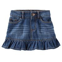 Toddler Girl OshKosh B'gosh® Ruffled Denim Skirt