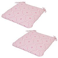 Outdoor 2 pc Reversible Seat Cushion Set