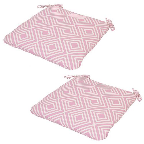 Outdoor 2-piece Reversible Seat Cushion Set