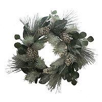 St. Nicholas Square® Artificial Pine & Eucalyptus Wreath