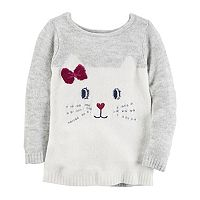 Toddler Girl Carter's Kitty Cat Sweater