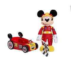 Disney Junior's Mickey Mouse and the Roadster Racers Racing Plush