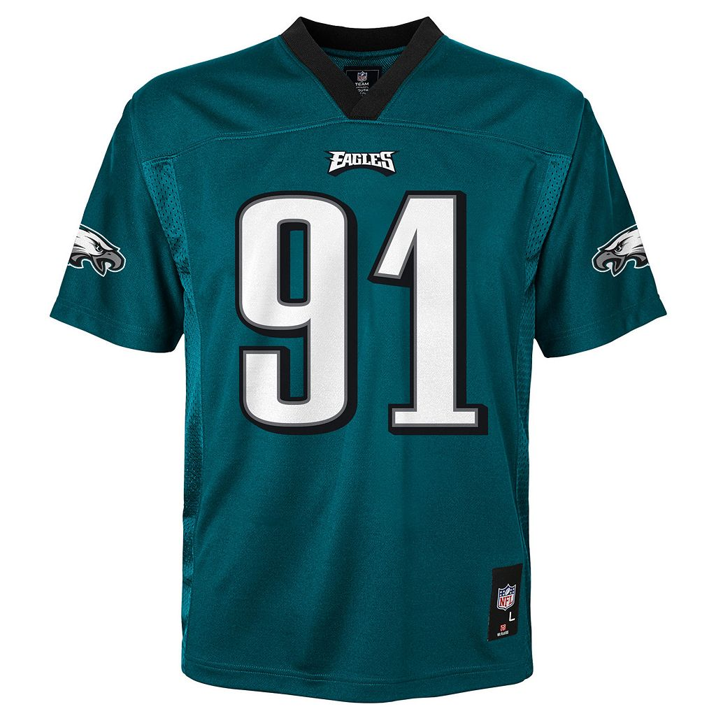 Boys 8-20 Philadelphia Eagles Fletcher Cox Replica Jersey