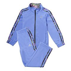 Toddler Girl adidas Warm Up Jacket & Pants Track Suit Set