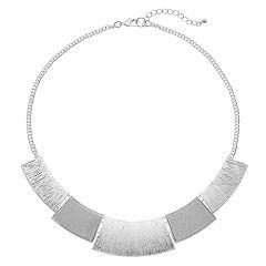 Glitter & Textured Geometric Necklace