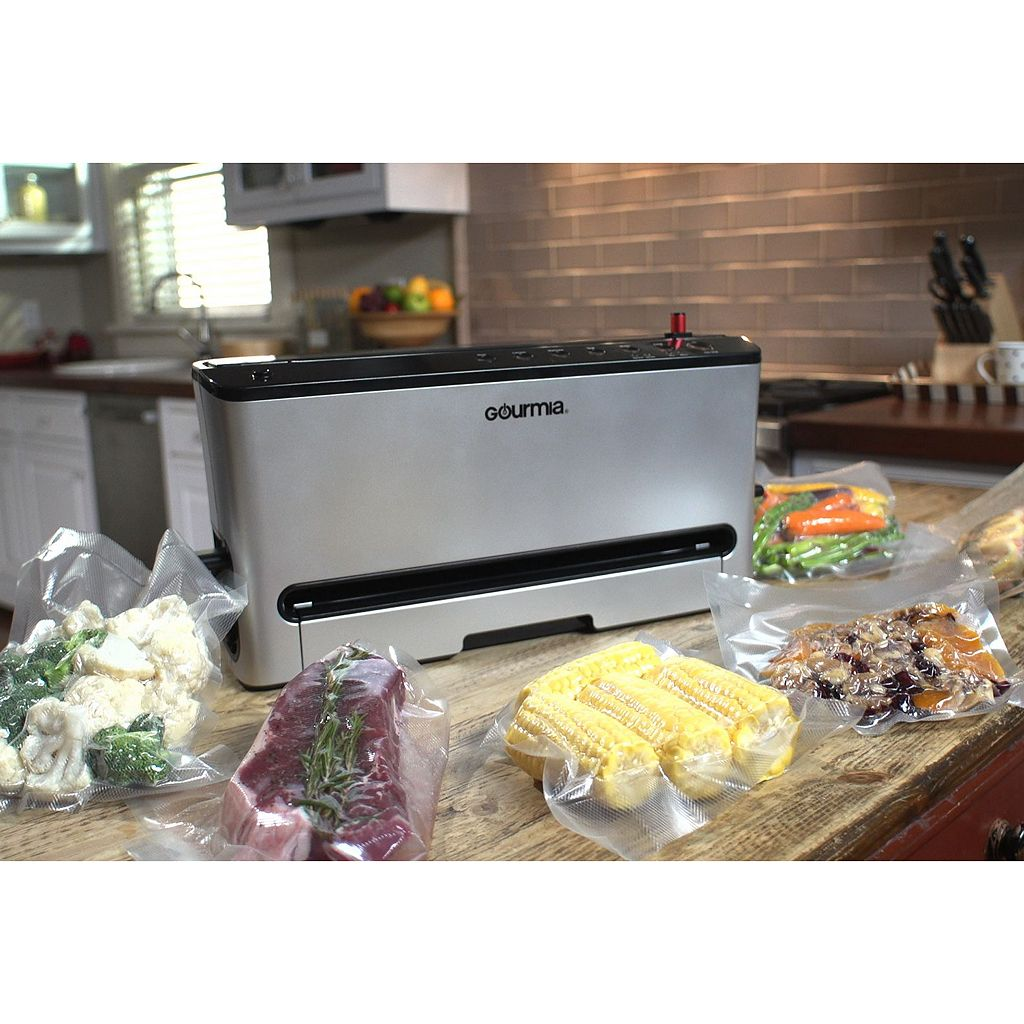 Gourmia LED Vacuum Sealing System with Canister & Pickling Modes