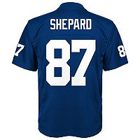 Boys 8-20 New York Giants Sterling Shepard Replica Jersey
