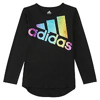 Toddler Girl adidas climalite Heart & Hustle Tee