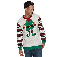 Men's Elf Ugly Christmas Sweater
