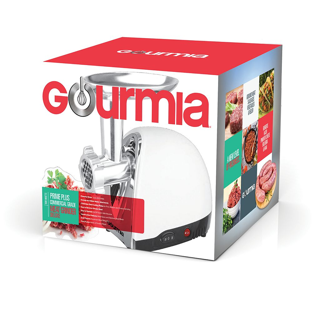 Gourmia Stainless Steel Meat Grinder