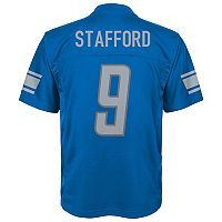 Boys 8-20 Detroit Lions Matthew Stafford Replica Jersey