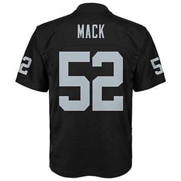 Boys 8-20 Oakland Raiders Khalil Mack Replica Jersey