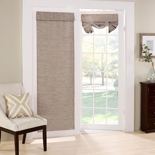 eclipse Thermalayer Blackout 1-Panel Newport Door Panel Curtain