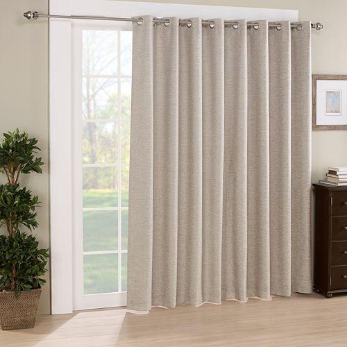 eclipse Thermalayer Blackout 1-Panel Newport Patio Door Curtain