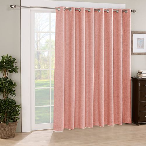 Eclipse Newport Blackout Patio Door Curtain