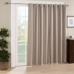 eclipse Thermalayer Blackout 1-Panel Newport Patio Door Curtain