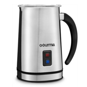 Gourmia Electric Milk Frother & Heater for Cold or Iced Drinks