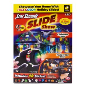 As Seen on TV Star Shower Slide Show Outdoor Light Display